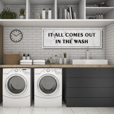 12x36 Large Laundry Rooms Signs | 45+ Designs images