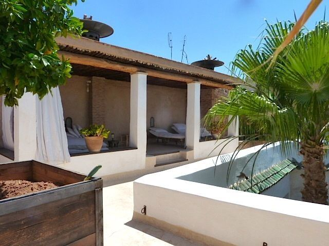 Riad roof terraces and medina views on pinterest roof terraces plunge pool - Achat immobilier islam ...
