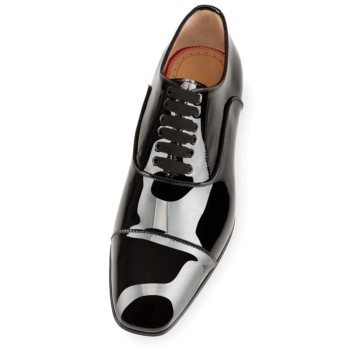 GREGGO FLAT Black Patent Leather - Men