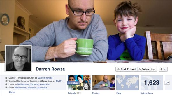 Famous Bloggers and Internet Marketers Facebook Timeline Images
