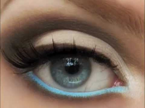 Video Tutorial: Get bold colors on your waterline, no eyeliner required!        Blog: www.pigmentsandpalettes.com    Subscribe to my YT Channel: PigmentsandPalettes