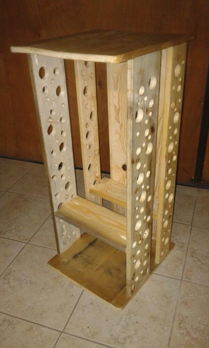 Superior Pallet Firewood Storage Box   99 Pallets