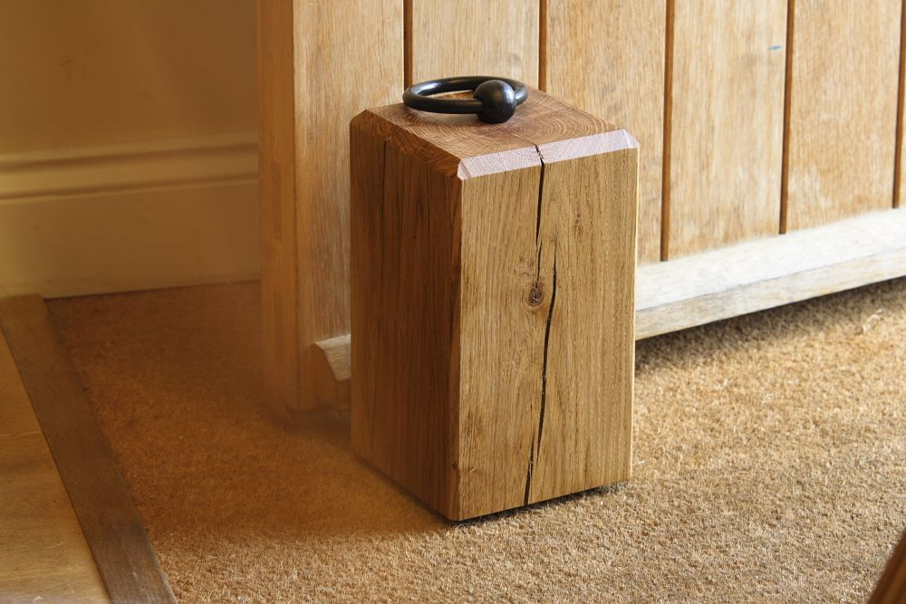 wooden door stops crafts. Black Bedroom Furniture Sets. Home Design Ideas