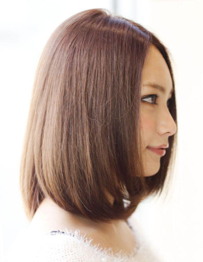 縮毛矯正ミディアム Mo 391 ヘアカタログ 髪型 ヘアスタイル