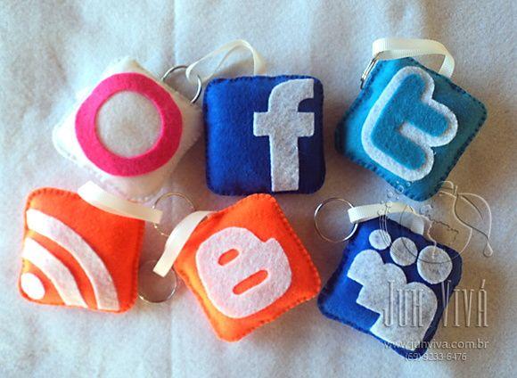 9059f5cf45 chaveiros redes sociais