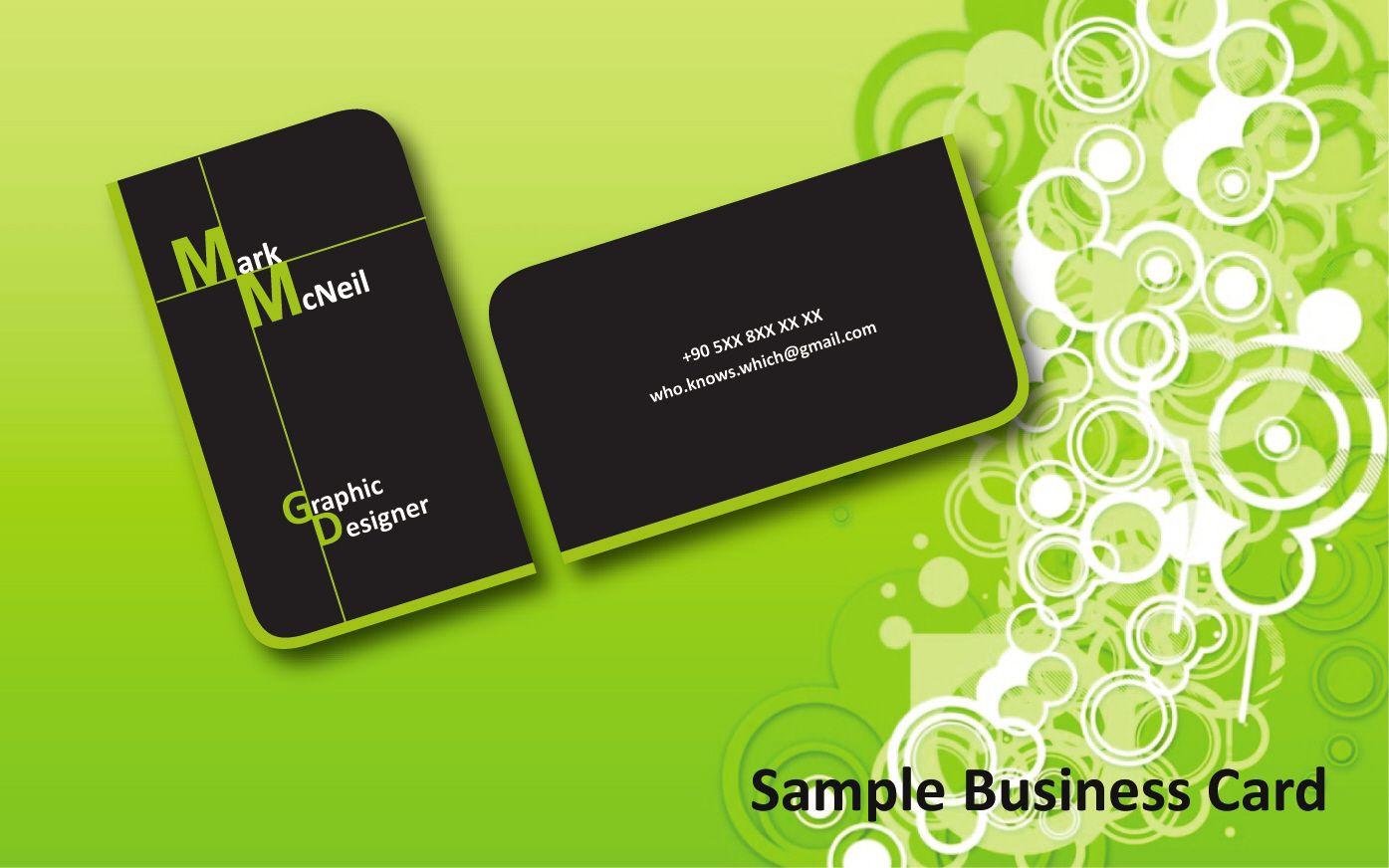 Einfache Word Visitenkartenvorlage Avery 8371 Mit Zitat Der