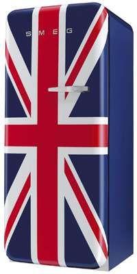 Smeg Union Jack Refrigerator #british #royalty trendhunter.com