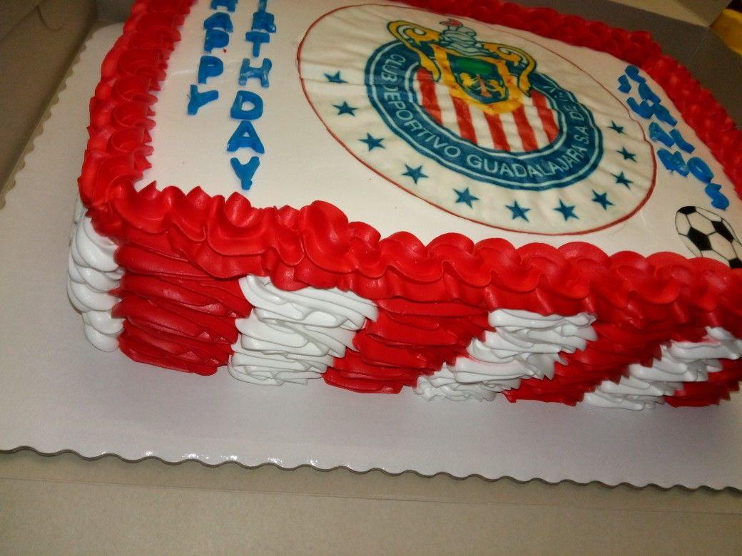 Chivas Birthday Cake Pastel De Cumplea 241 Os De Las Chivas