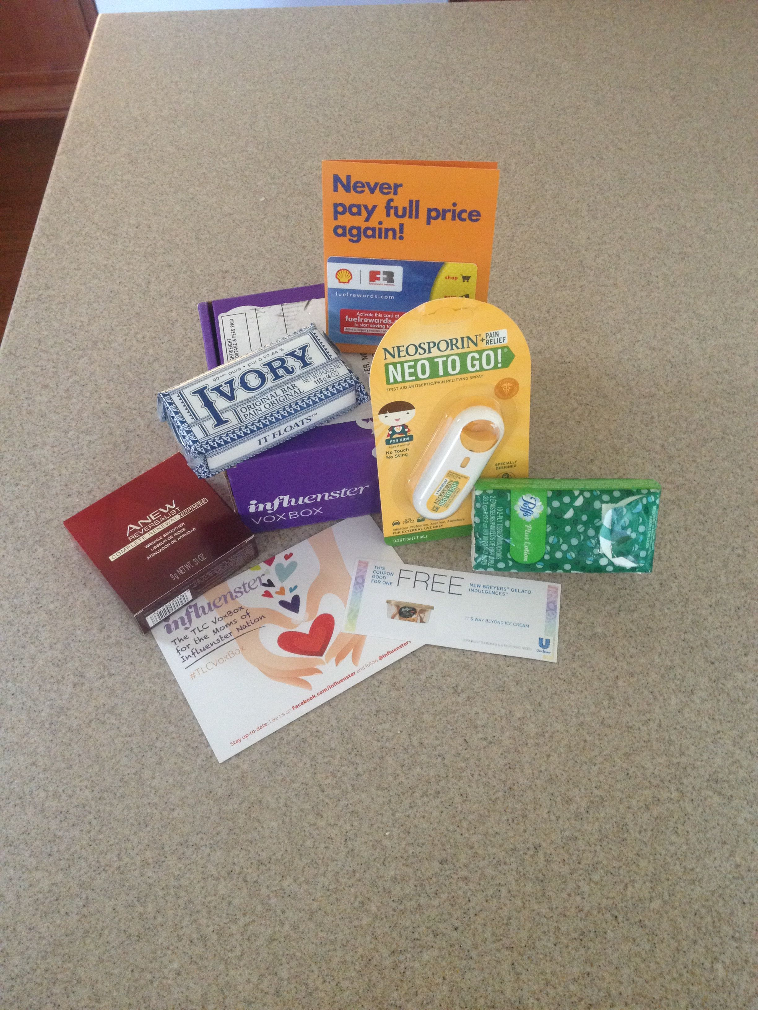#TLCVoxBox #Influenster #MomBox Great products!