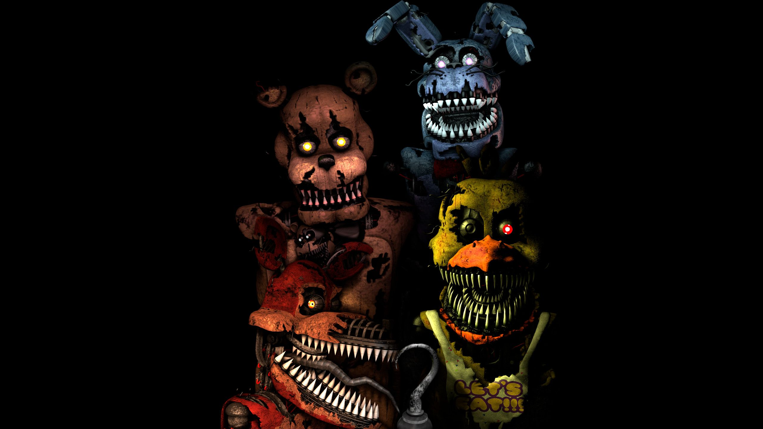 86 Fnaf Desktop Wallpapers On Wallpaperplay