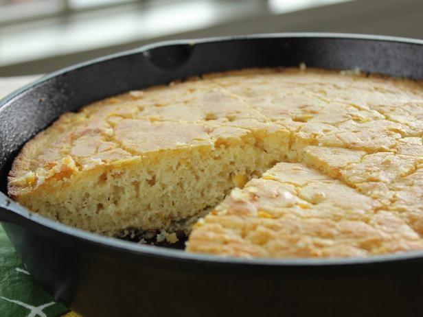 Sour Cream Cornbread Recipe Food Network Recipes Sour Cream Cornbread Food