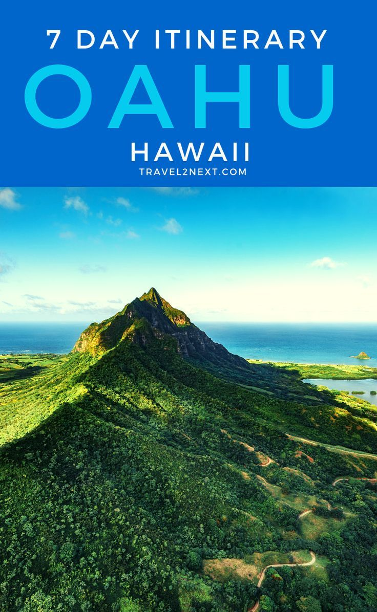 The Perfect Oahu Itinerary 7 Days Oahu travel, Hawaii