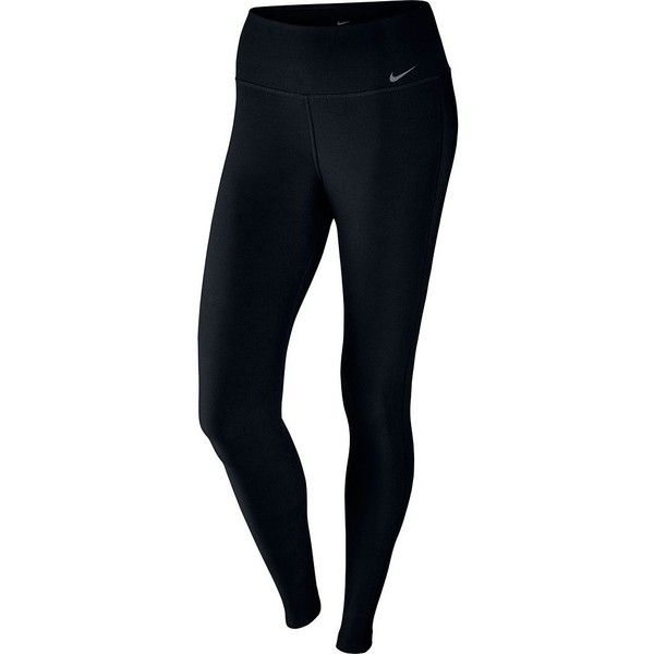 3d940e4c2753c0 Women's Nike Power Training Workout Tights (140 PEN) ❤ liked on Polyvore  featuring activewear, activewear pants, grey, nike, nike activewear, nike  ...
