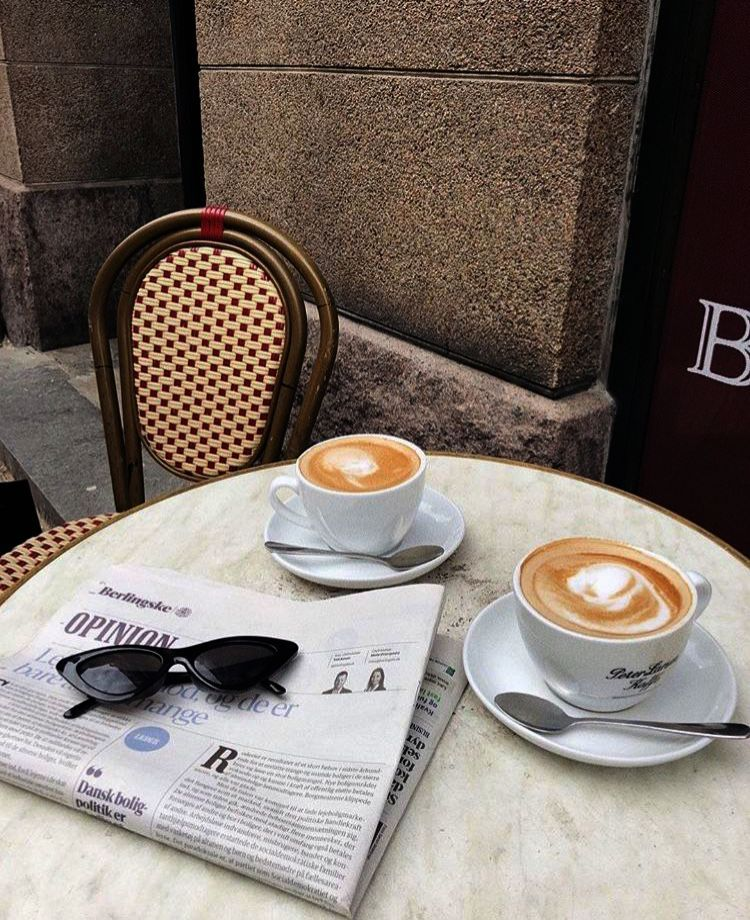 Coffee Table Fridge above Crawfords Morning Coffee