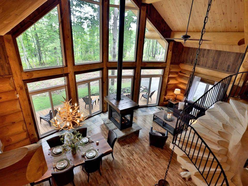 Pin by Karen O'Connors on Awesome living rooms | Cabin ...