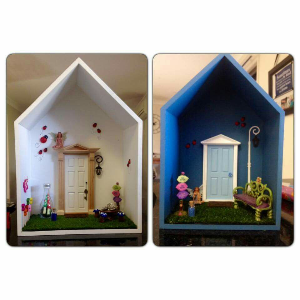 Build Your Own Fairy Village In Miniature Cottage Wooden House Dolls Kit