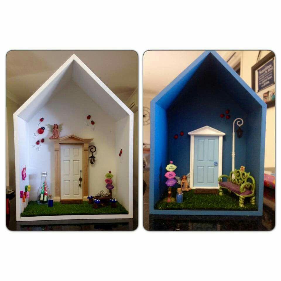 Fairy door kmart hack diy projects pinterest fairy for Fairy door kmart