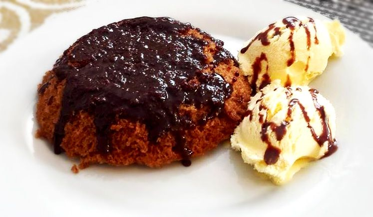 Chocolate cake rus with Vanilla Ice Cream | Fun Cooking