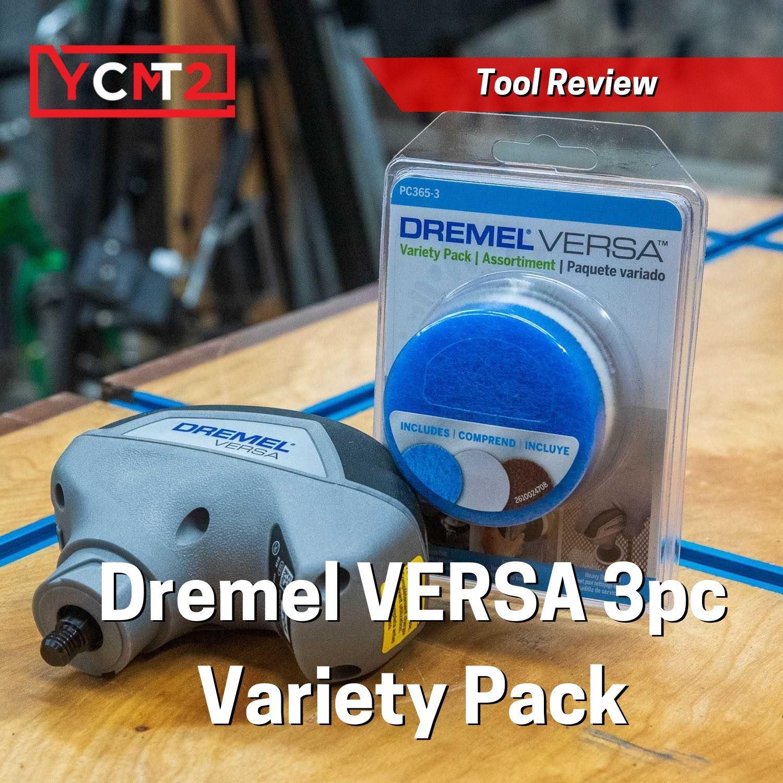 Dremel PC365-3 Versa Power Cleaner Variety Accessory Pack 3-Pc.