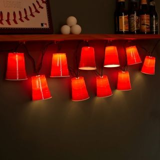 Red Cup Novelty String Lights Large From Greatgiftsformen