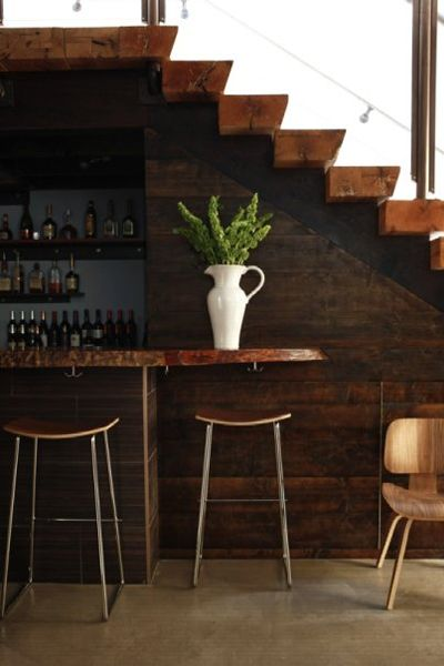 Under Stairs Bar … Coffee And Tea Time In 2019 Bar | Bar Counter Design Under Stairs