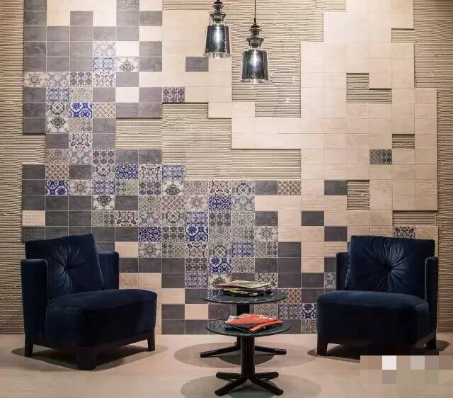 Nice tile, Tiling, tiled finished, artistic atmosphere and fashion style. Blossom Age Series 4