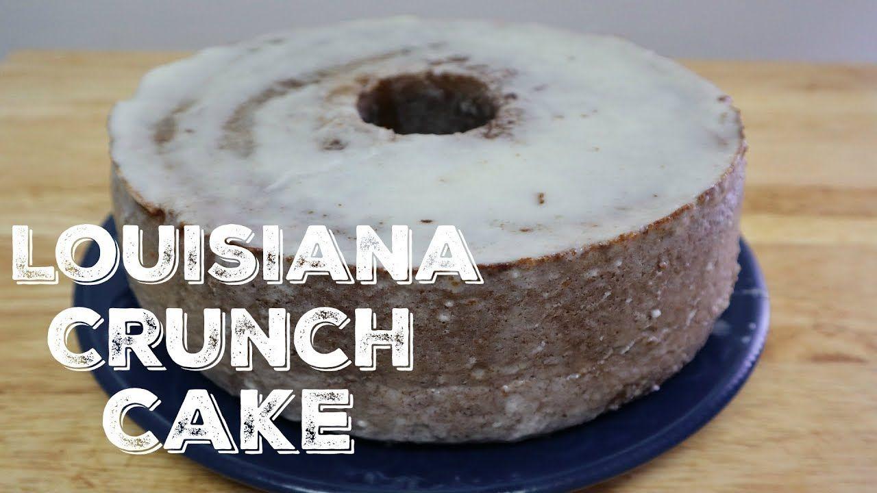 How to make louisiana crunch cake youtube louisiana