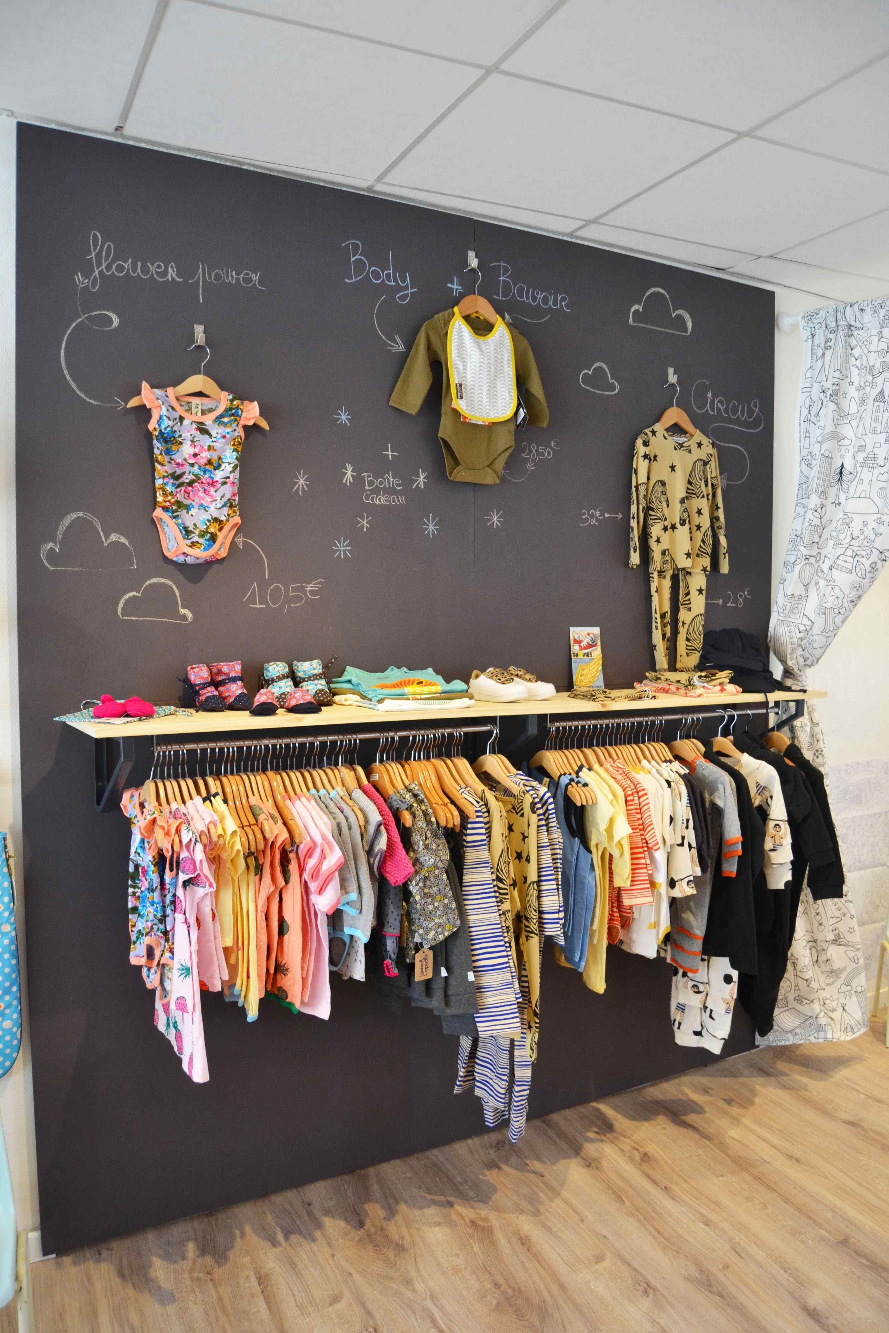 Small Retail Store Design Boutiques Clothing Racks Elegant Small