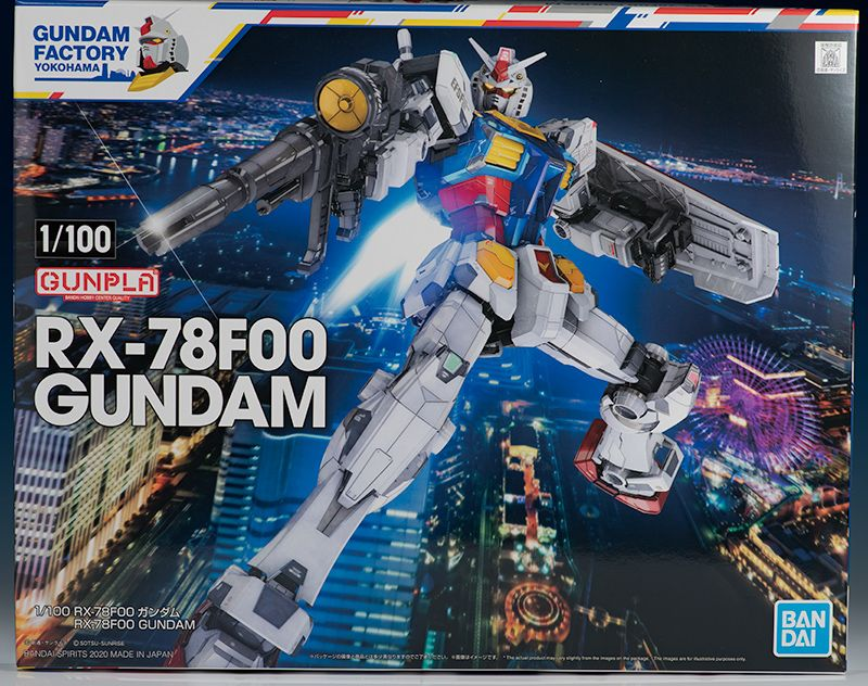 Read and watch Review 1/100 RX78F00 Gundam in 2020