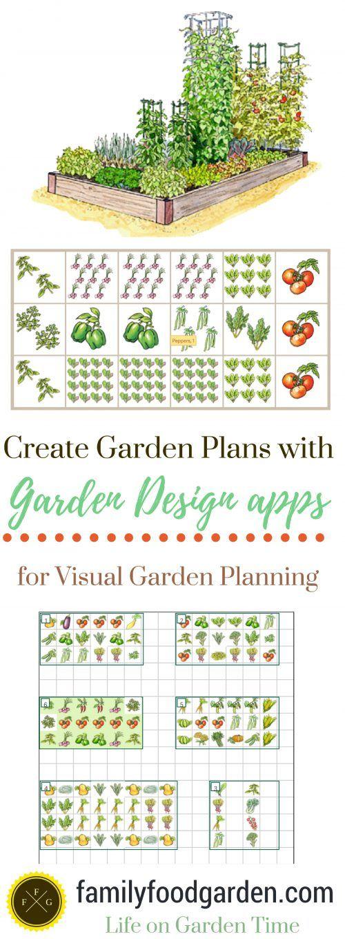 Garden Design apps to Create Garden Plans Vegetable