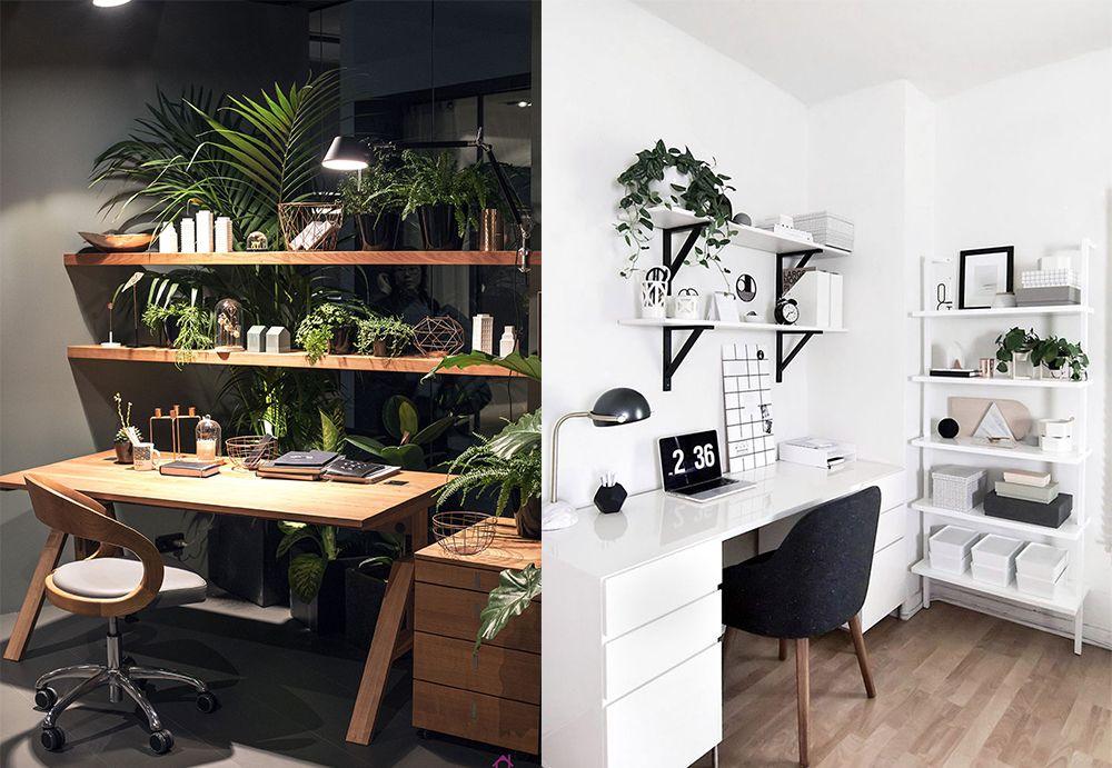 Home-Office-Ideen Eco Office Interior Design Möbel und Accessoires - aktuelle trends esszimmer mobel modern