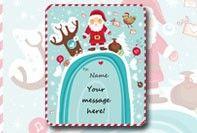 Plantilla de Etiqueta de Navidad | Etiquetas de Regalos de Navidad para Personalizar