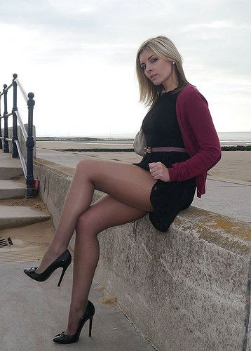 bababdde8b959 Dark Pantyhose and Lovely Legs | Flickr - Photo Sharing! | фото | Обувь