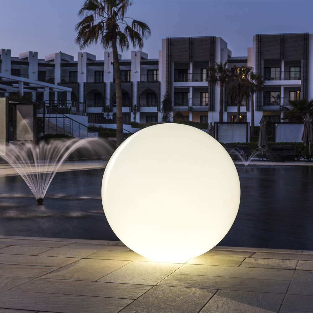 Globe LED Indoor Outdoor Lamp