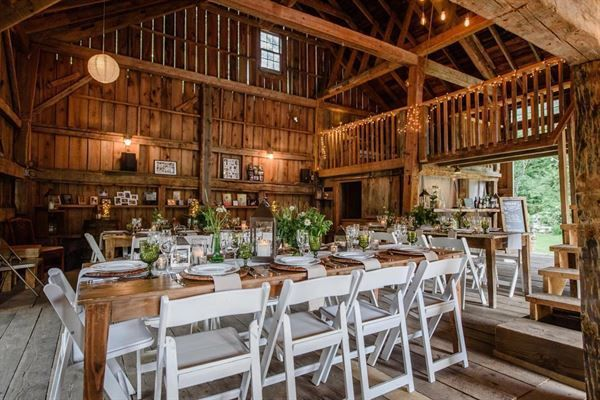Host your event at Caswell Farm & Wedding Barn in Gray ...