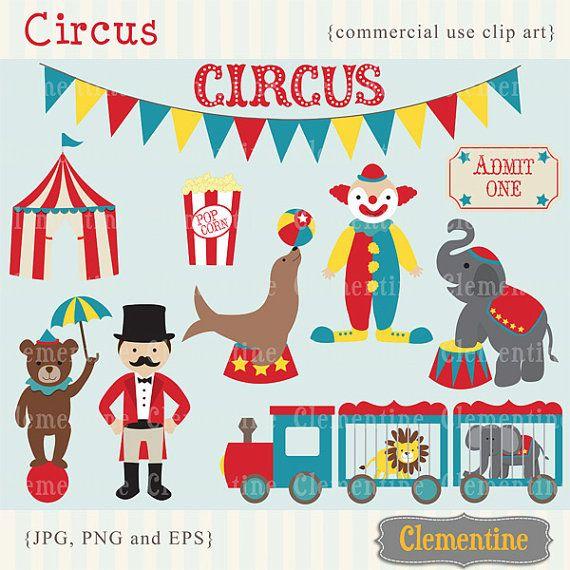 Circus clip art images, circus clipart, circus vector, royalty ...