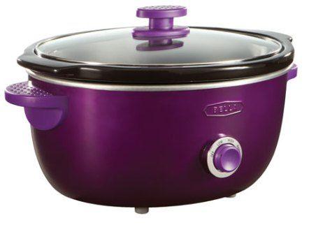 Bella Dots Slow Cookers, $50, sears - Cute Purple Slow Cooker - kitchenaid küchenmaschine artisan rot