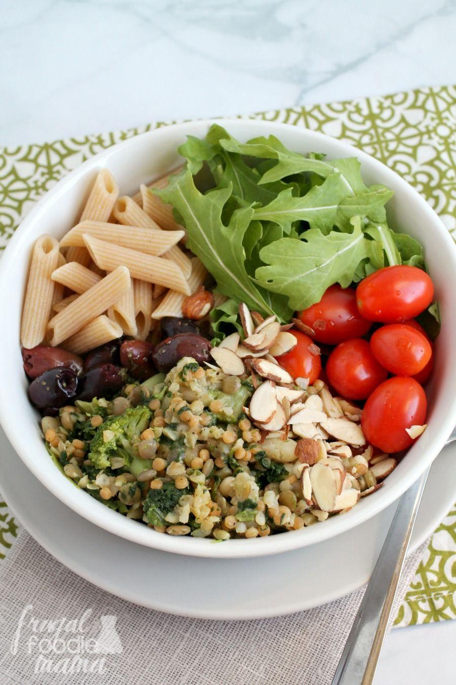 Italian Style Buddha Bowl Meatless Recipes Easy