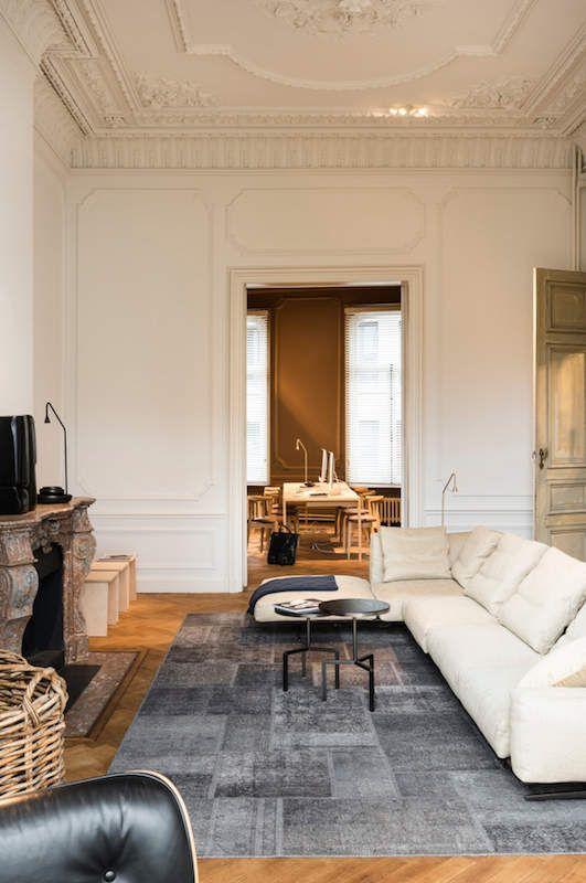 Grandeur Et Design Epure A Part Ca Maison De Maitre Maison Amenagement Interieur Maison