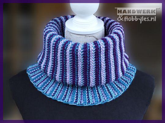 Tunisch gehaakte col | Вязание спицами | Pinterest | Crochet ...