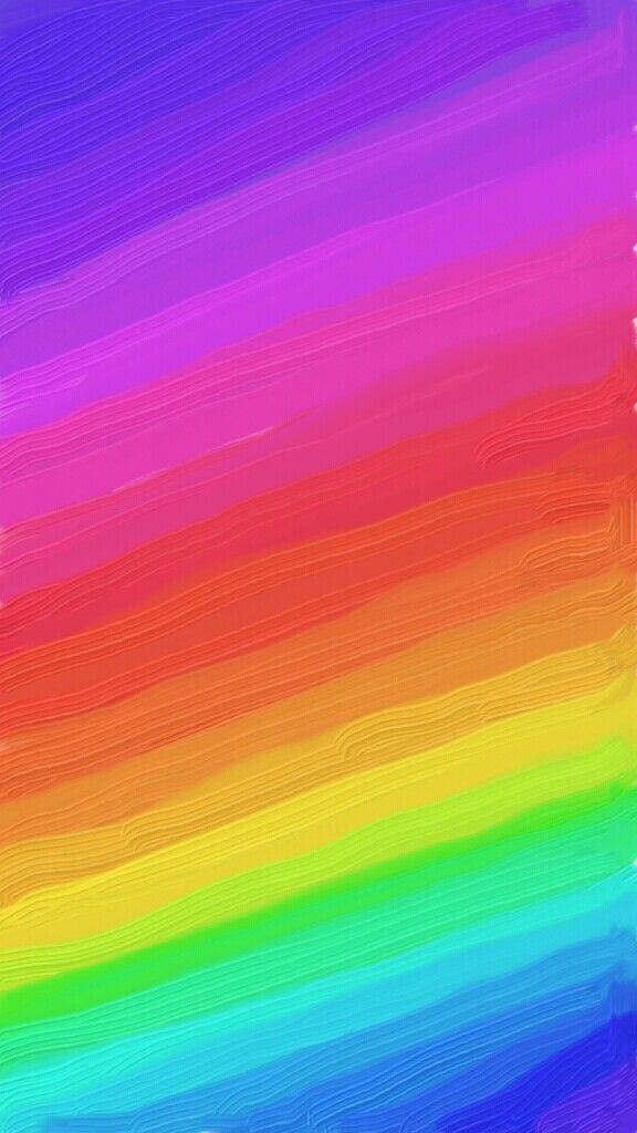 Rainbow Theme Wallpaper By Moulijamwal Rainbow Painting Rainbow Wallpaper Rainbow Theme