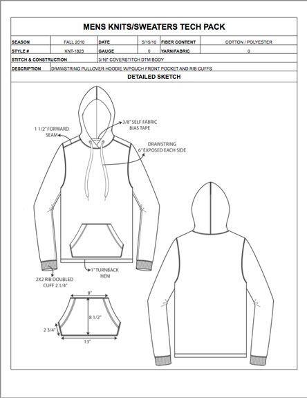 Fashion Apparel Tech Pack Templates   Szabs-varrs, Varrs