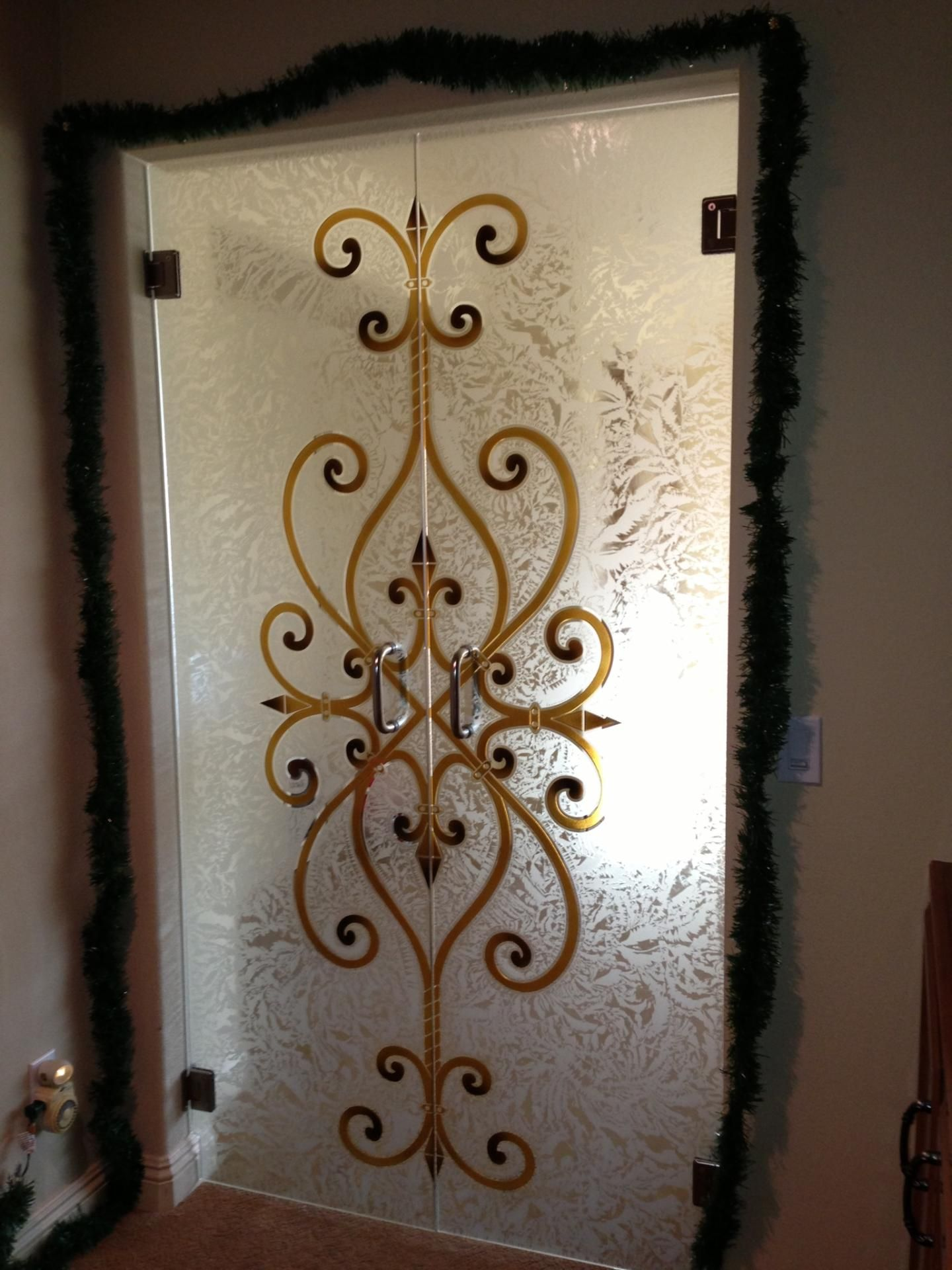 Contemporary Interior Doors With Frosted Glass And That