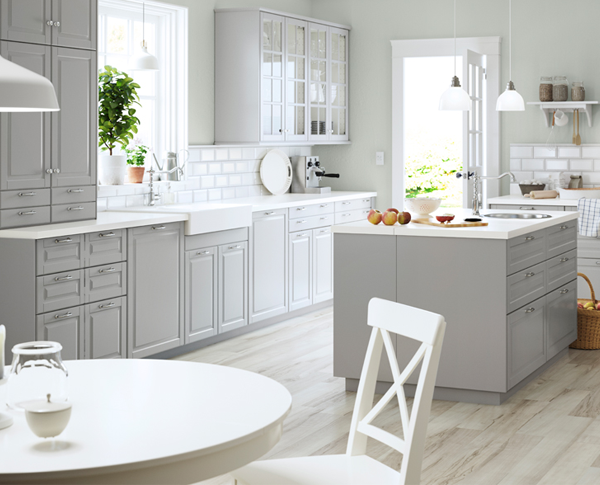 Landhaus Küche von Ikea | Küche | Pinterest | Küchen von ikea ...