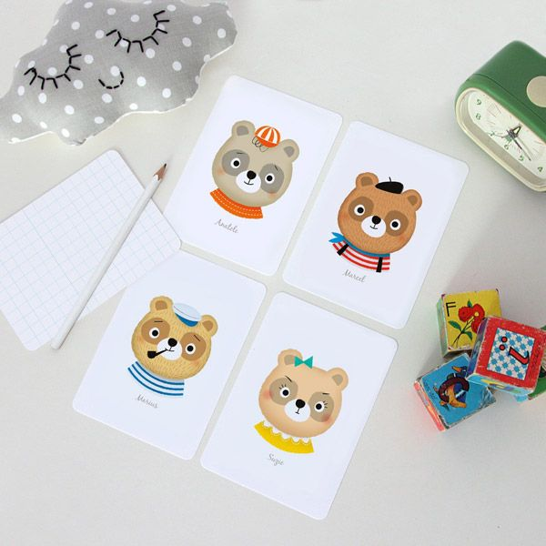 Cartes ours
