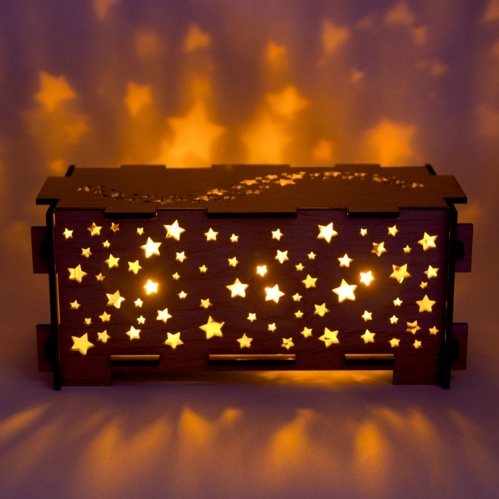 Star Wood Night Light Box Love These So Pricey Though Need To