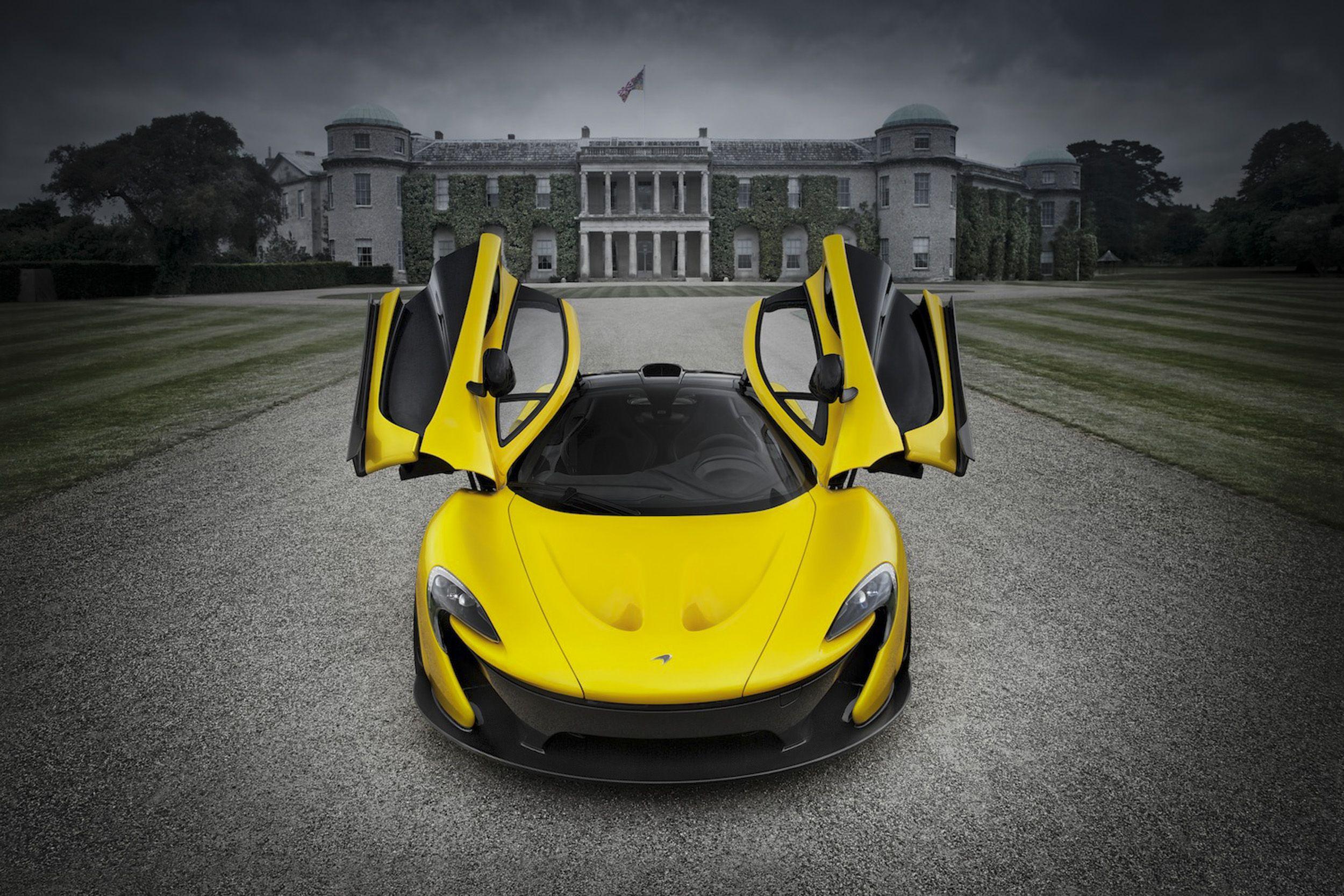 McLaren P1 In Yellow On Cool Hd Wallpaper Mclarenp1 Cars Hdwallpaper HD