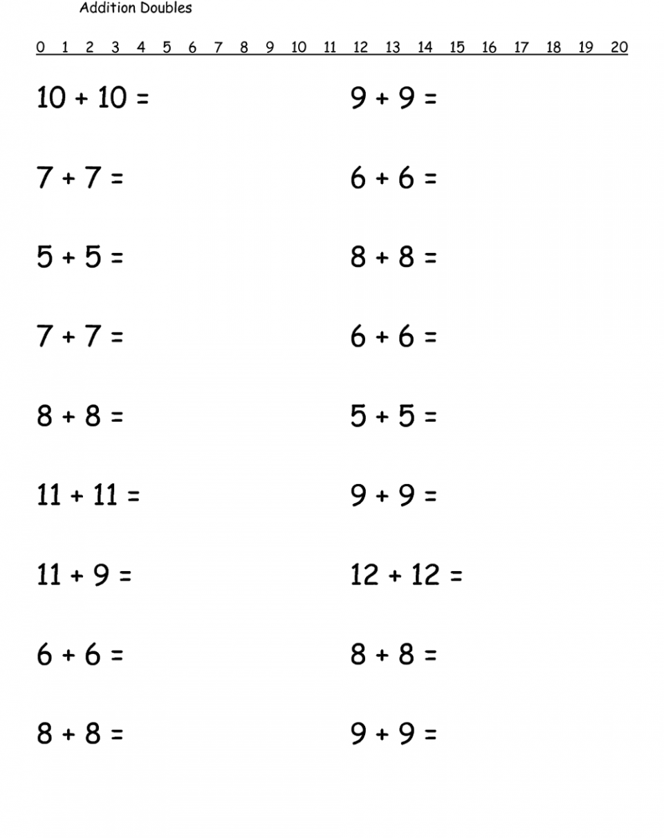1st Grade Math Worksheets Free Printable 1st Grade Math