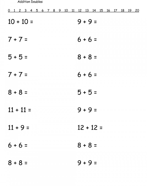1st Grade Math Worksheets Free Printable 1st Grade Math