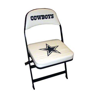 dallas cowboys folding chairs chair rental miami locker room pinterest